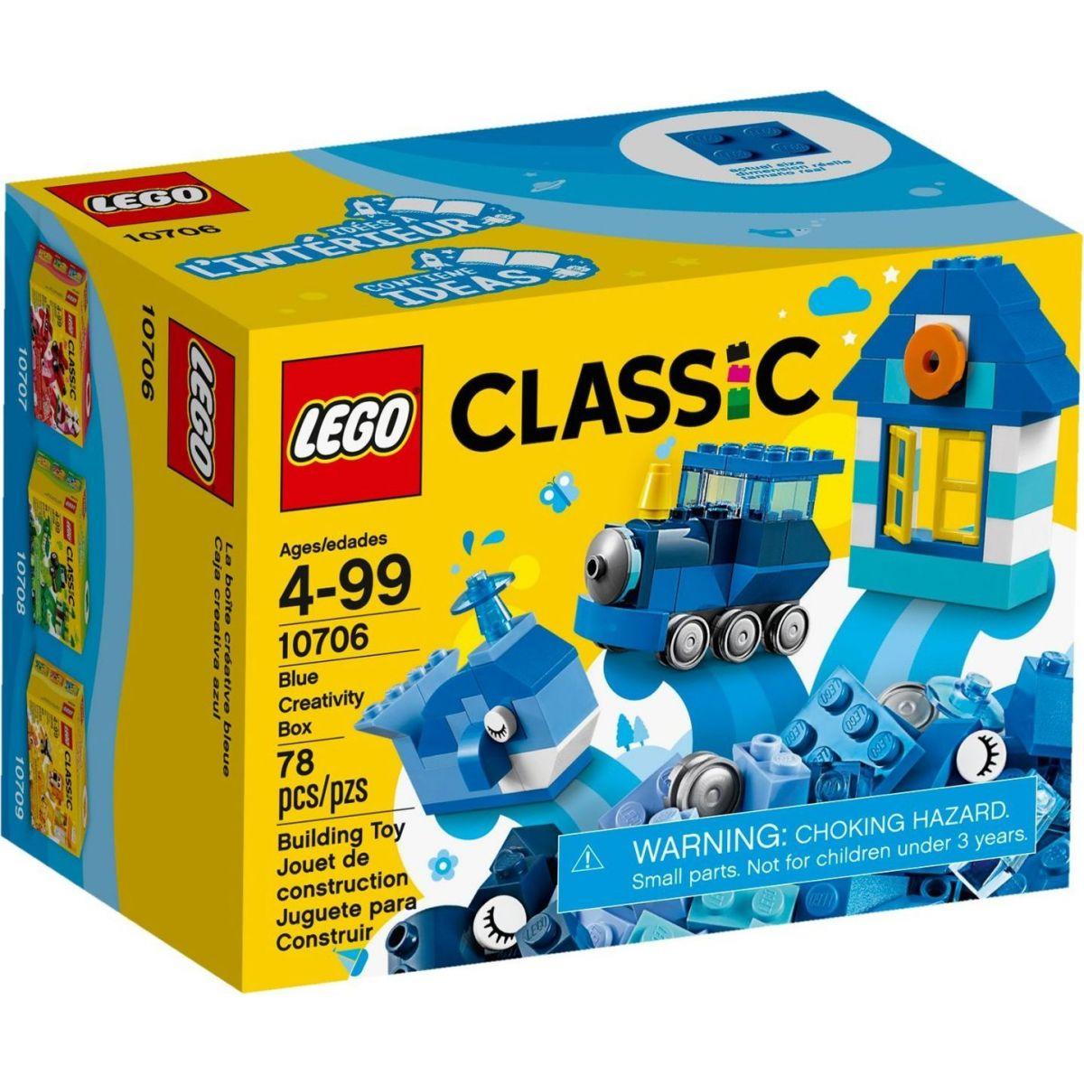 LEGO Classic 10706 Modrý kreatívny box