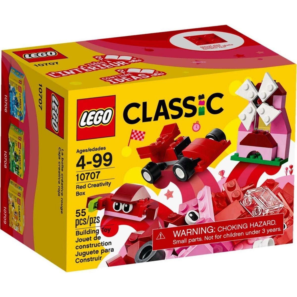 LEGO Classic 10707 Červený kreatívny box