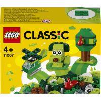 LEGO Classic 11007 Zelené kreatívne kocky