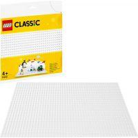 LEGO Classic 11010 Biela podložka na stavanie