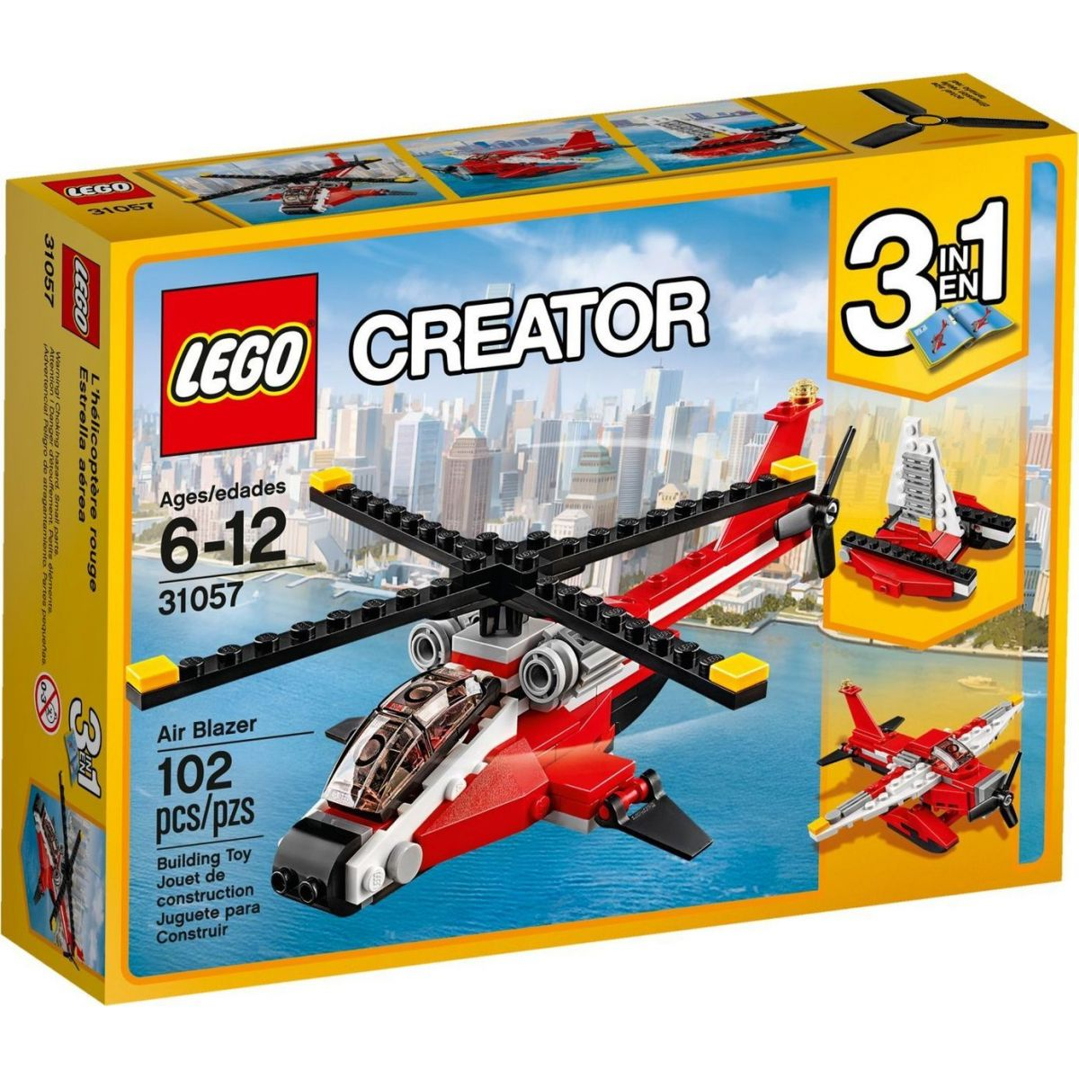 LEGO Creator 31057 Prieskumná helikoptéra - Poškozený obal
