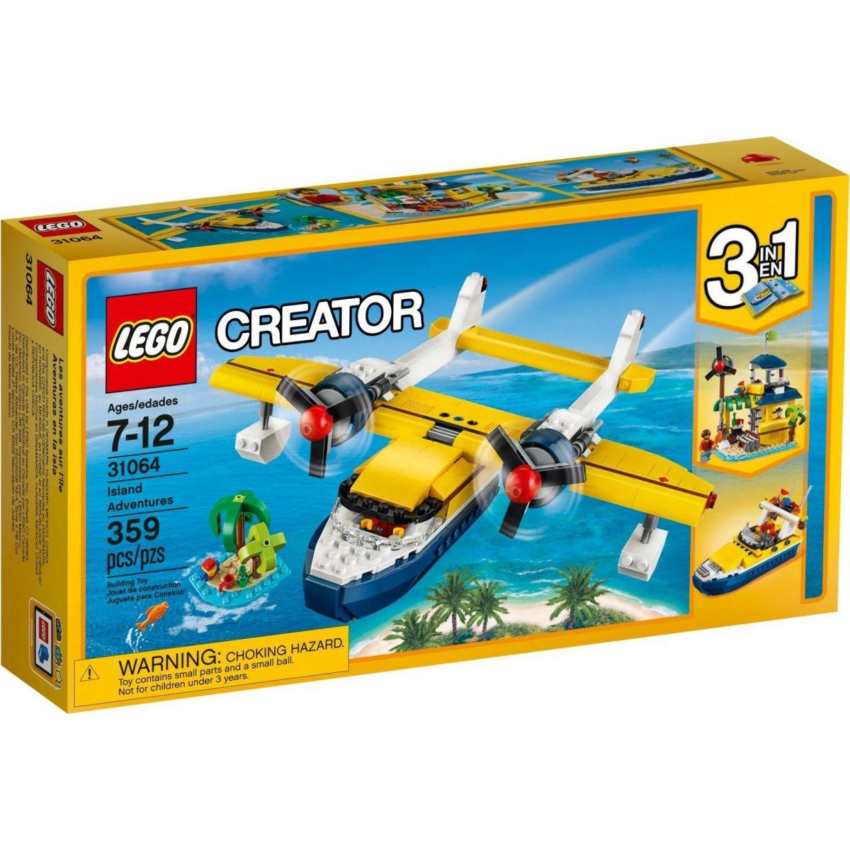 LEGO Creator 31064 Dobrodružstvo na ostrove