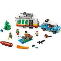 LEGO Creator 31108 Rodinná dovolená v karavanu  - Poškodený obal