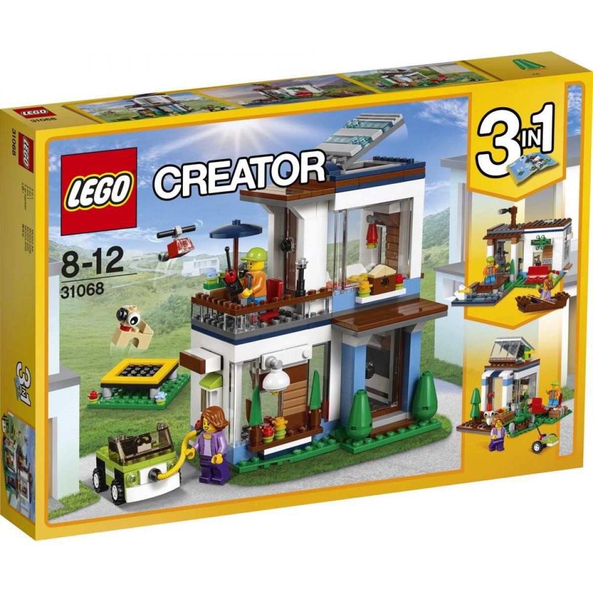 LEGO Creator 31068 Modulárne moderné bývanie - Poškodený obal