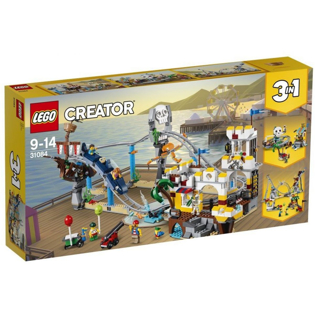 LEGO Creator 31084 Pirátská horská dráha - Poškozený obal