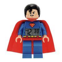 LEGO DC Super Heroes Superman Hodiny s budíkom