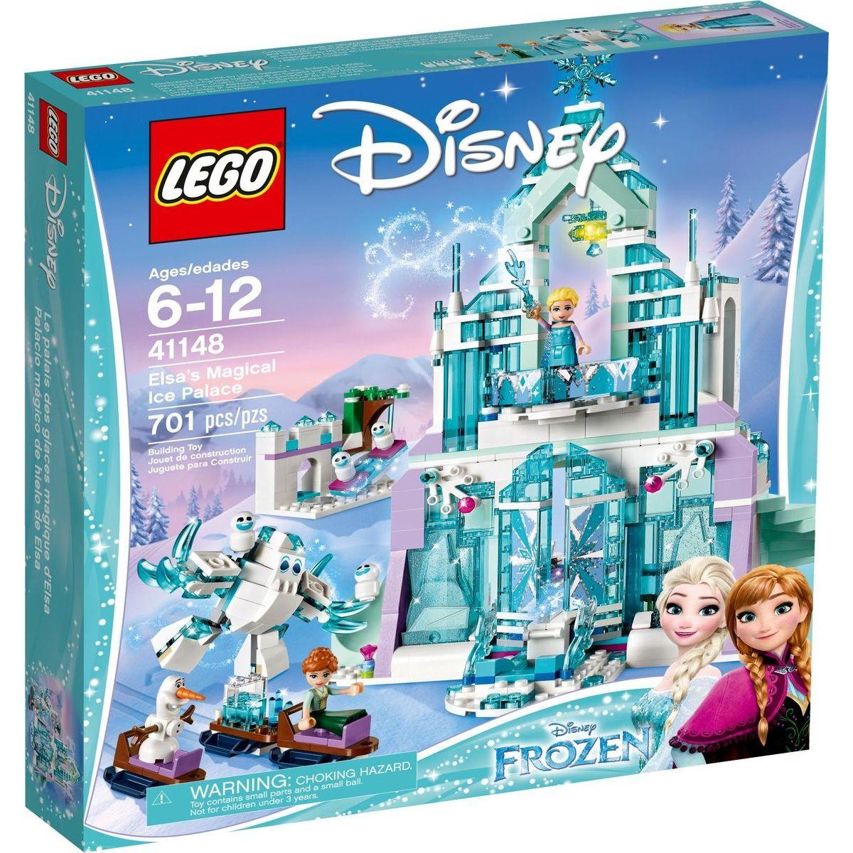LEGO Disney 41148 Elsa a jej čarovný ľadový palác