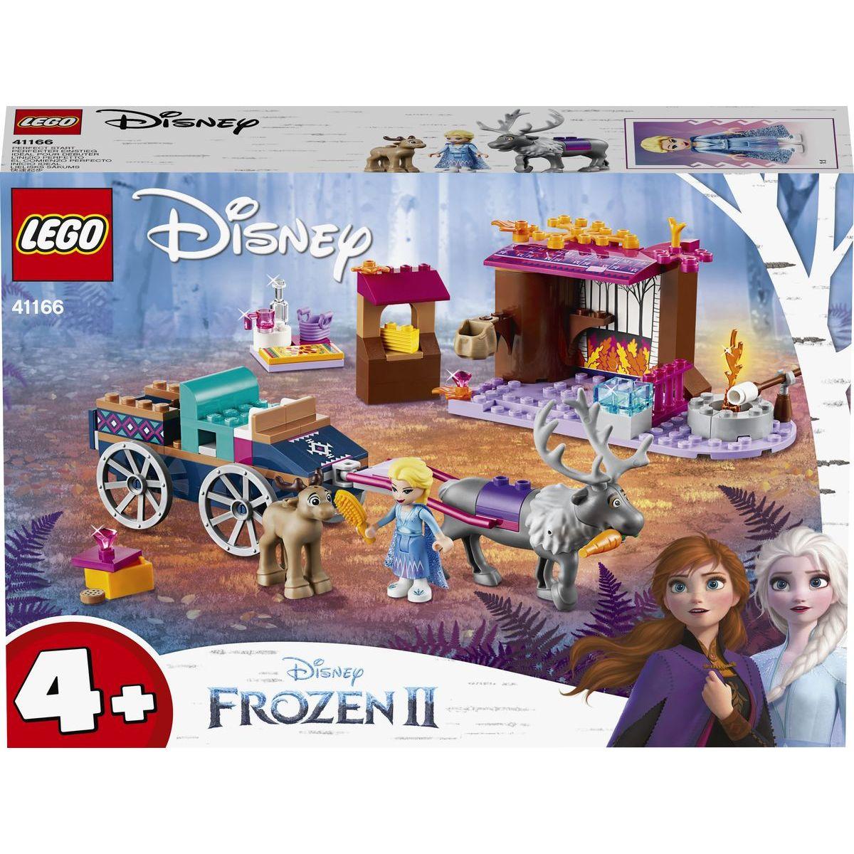 LEGO Disney Princess 41166 Elsa a dobrodružstvo s povozom - Poškodený obal