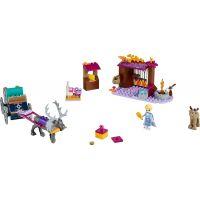 LEGO Disney Princess 41166 Elsa a dobrodružstvo s povozom - Poškodený obal 2