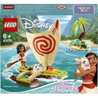 LEGO Disney Princess 43170 Vaiana a jej oceánske dobrodružstvo