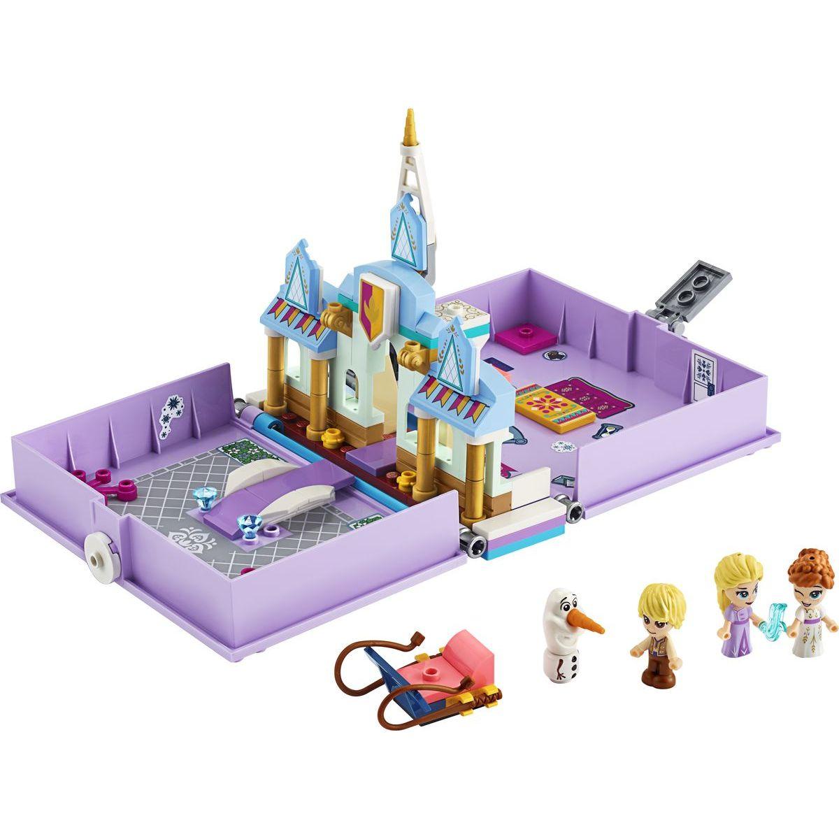 LEGO Disney Princess 43175 Anna a Elsa a ich rozprávková kniha