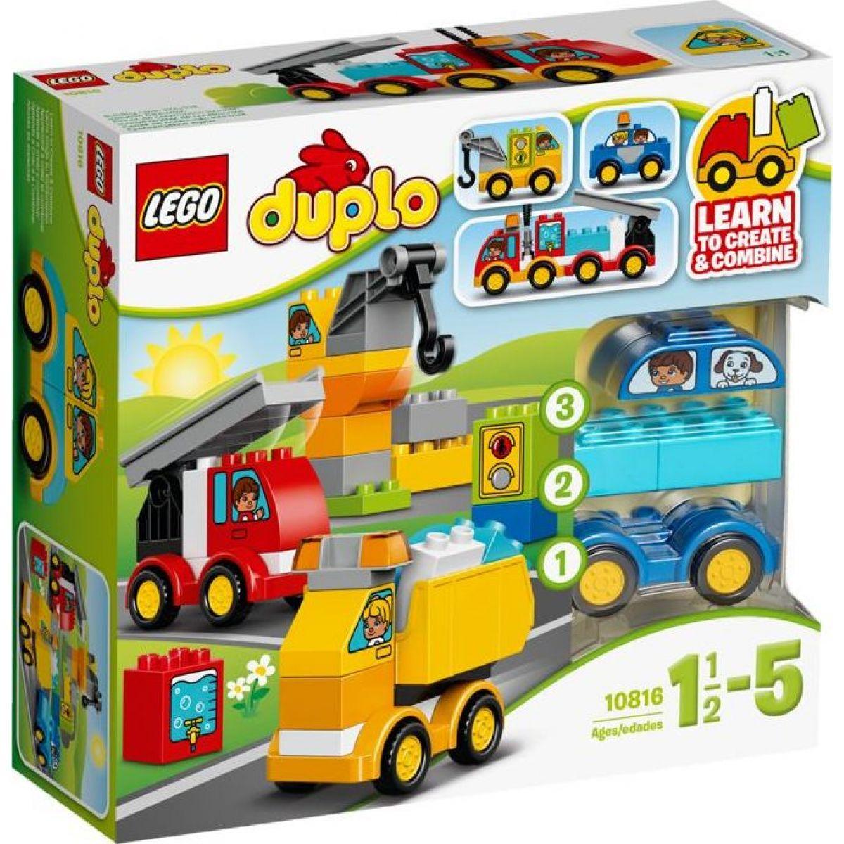 LEGO DUPLO 10816 Moje prvé autíčka a nákladiaky