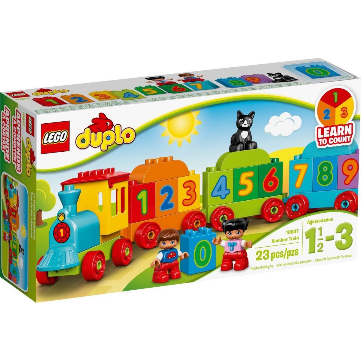 LEGO DUPLO 10847 Vláčik s číslami
