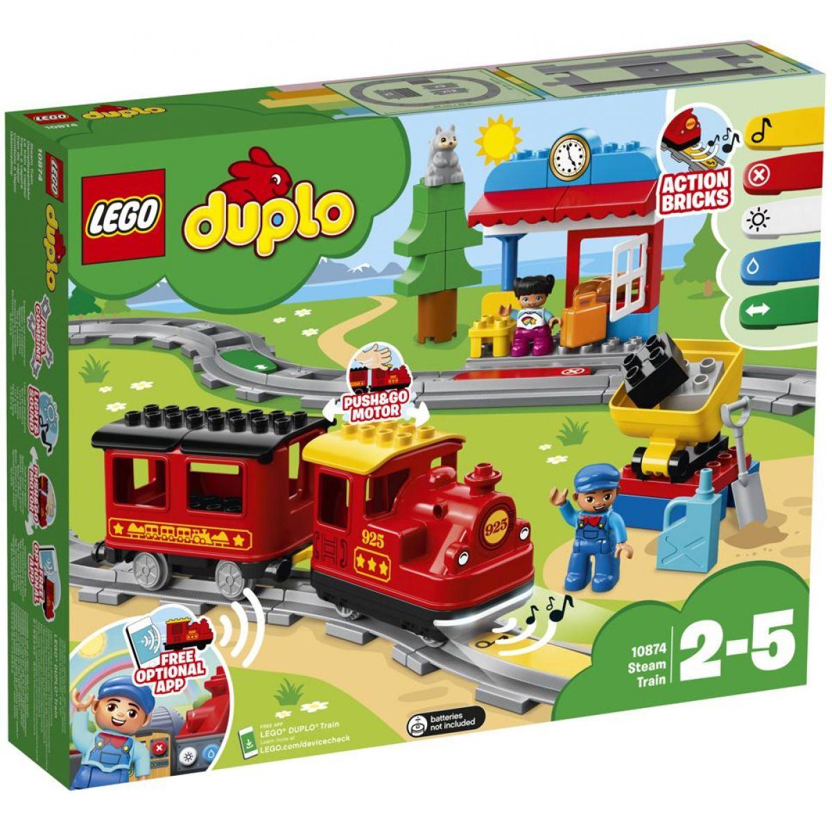 LEGO DUPLO 10874 Parný vláčik