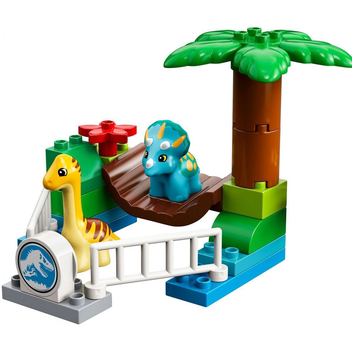 LEGO DUPLO 10879 Jurassic World Dinosauria zoo