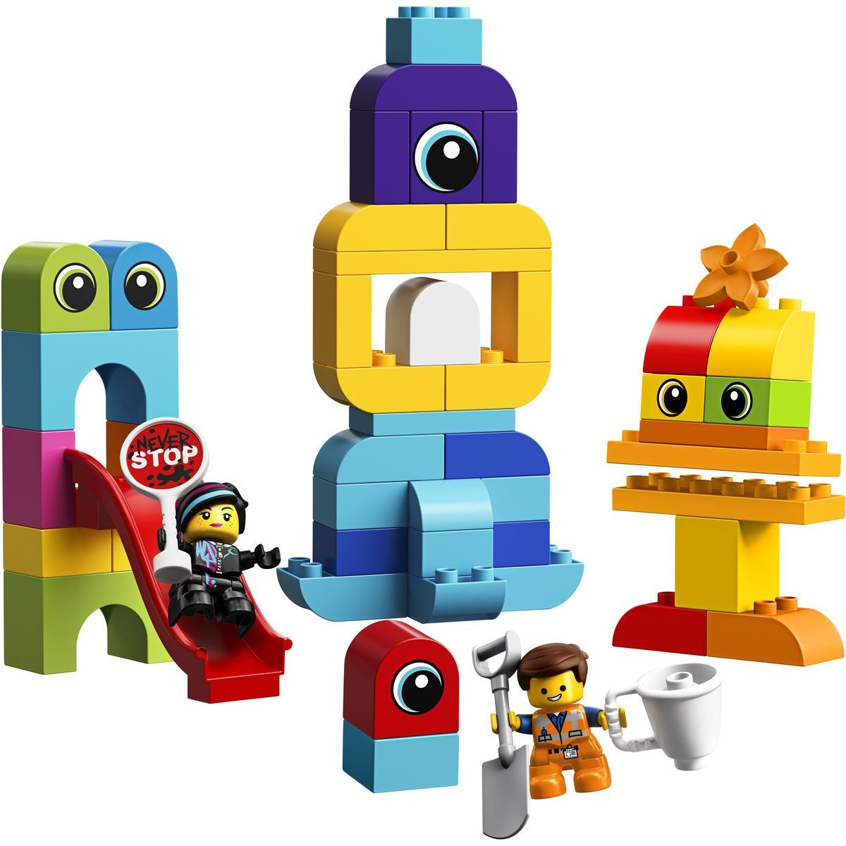 LEGO DUPLO 10895 Emmet, Lucy a návštevníci z planéty DUPLO®