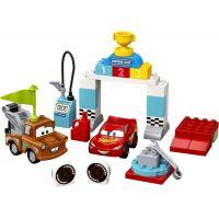 LEGO DUPLO Cars TM 10924 Bleskový McQueen a deň pretekov