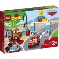 LEGO DUPLO Cars TM 10924 Bleskový McQueen a deň pretekov 2