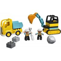 LEGO DUPLO Town 10391 Nákladiak a pásový bager