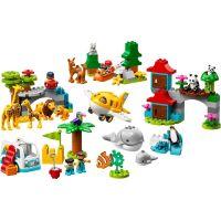 LEGO Duplo Town 10907 Zvieratá sveta