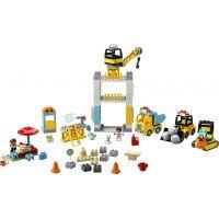 LEGO DUPLO Town 10933 Stavba s vežovým žeriavom