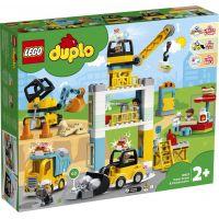 LEGO DUPLO Town 10933 Stavba s věžovým jeřábem 2