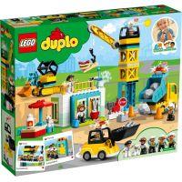 LEGO DUPLO Town 10933 Stavba s věžovým jeřábem 3