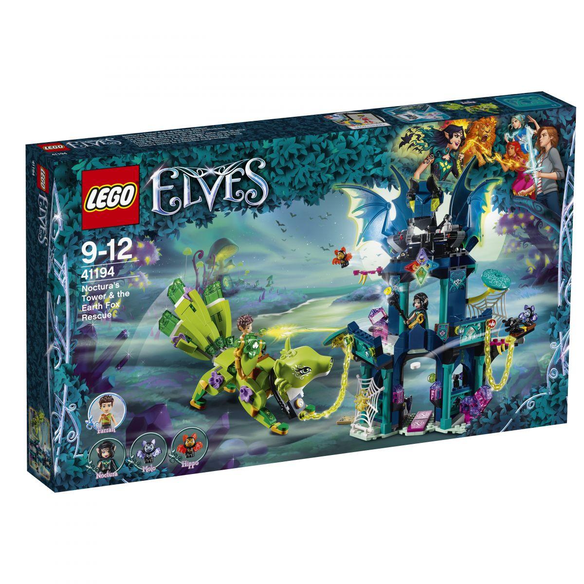LEGO Elves 41194 Noctuova veža a záchrana zemskej líšky