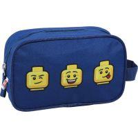 LEGO Faces Blue toaletná taška