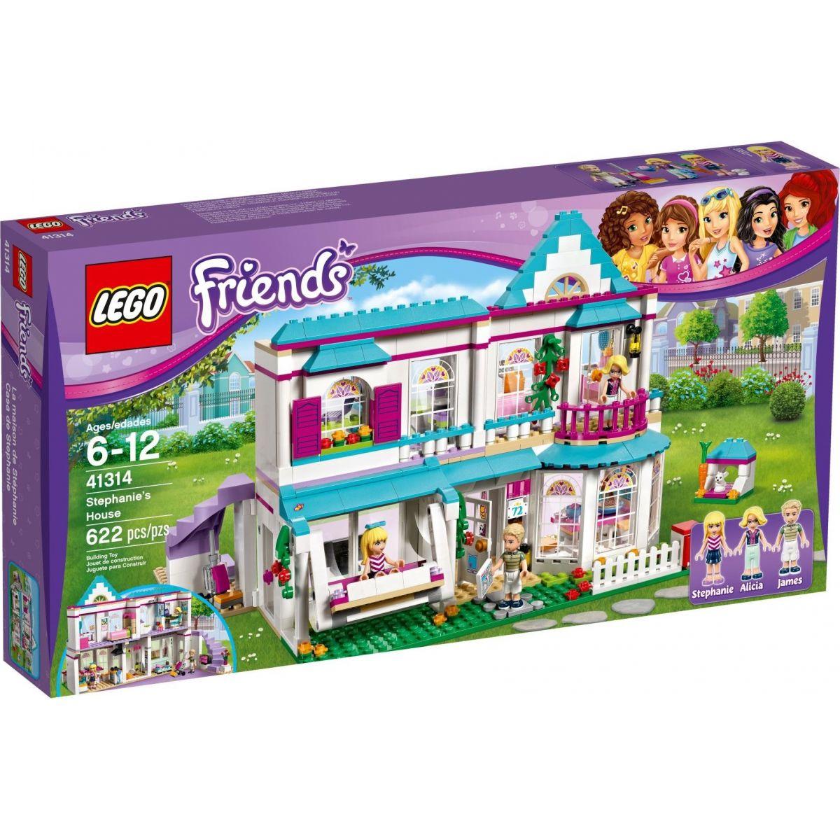 LEGO Friends 41314 Stephania a jej dom