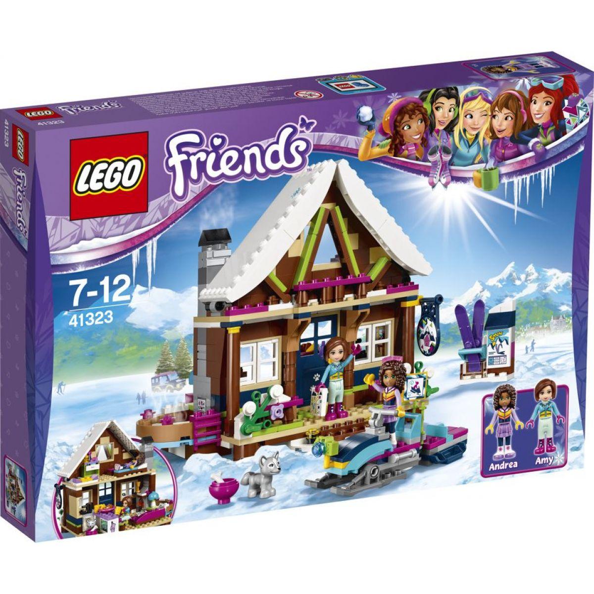 LEGO Friends 41323 Chata v zimnom stredisku