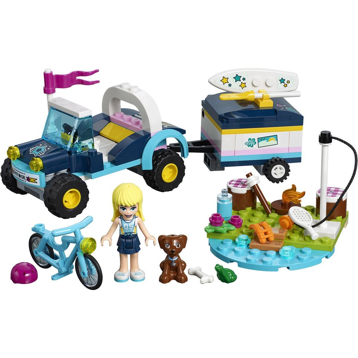 LEGO Friends 41364 Stephaniina bugina a príves