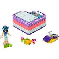 LEGO Friends 41385 Emma a letný srdiečkový box