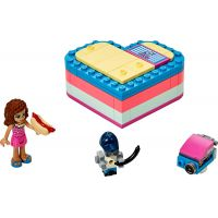 LEGO Friends 41387 Olivia a letný srdiečkový box
