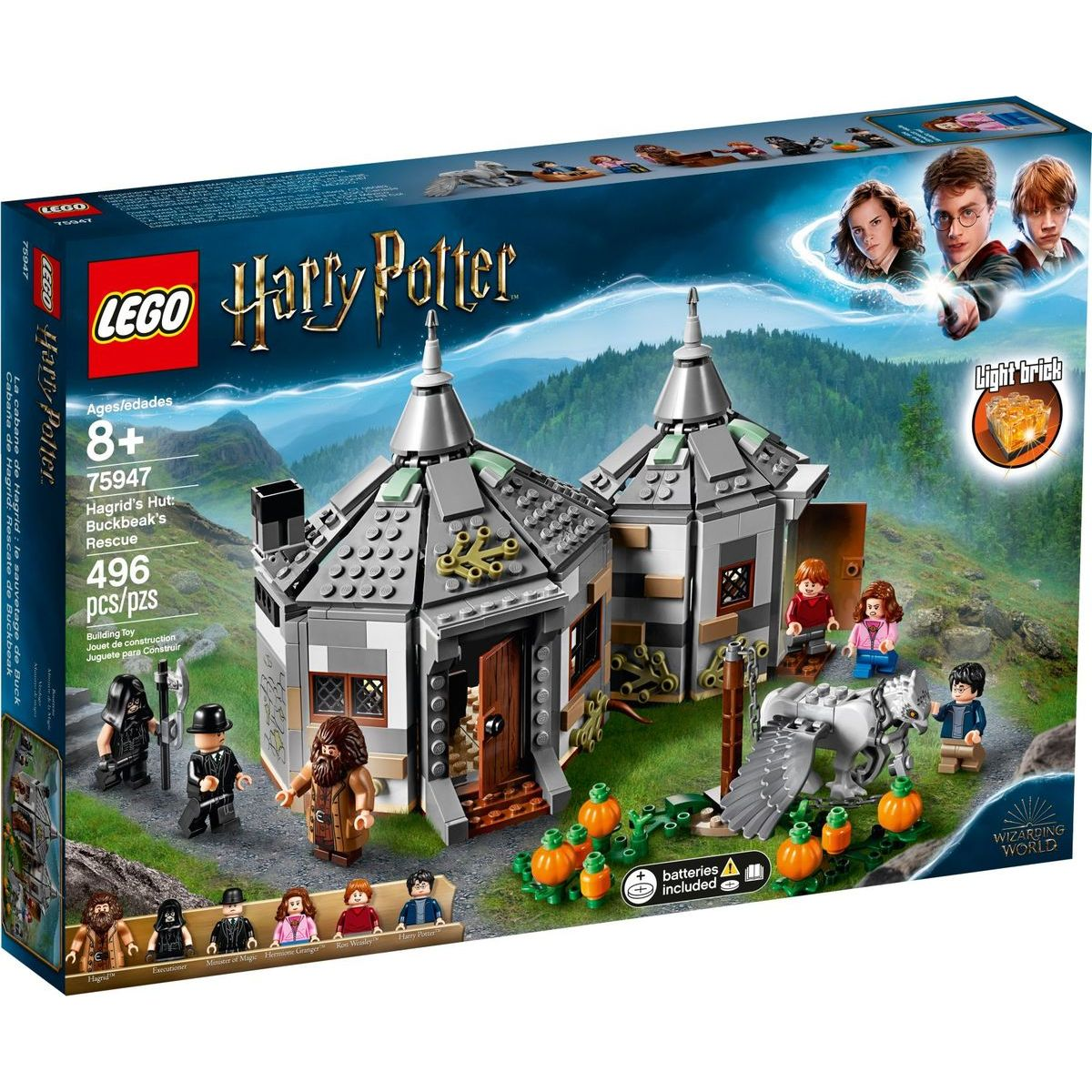 LEGO Harry Potter TM 75947 Hagridova chatrč: Záchrana Hrdozobca