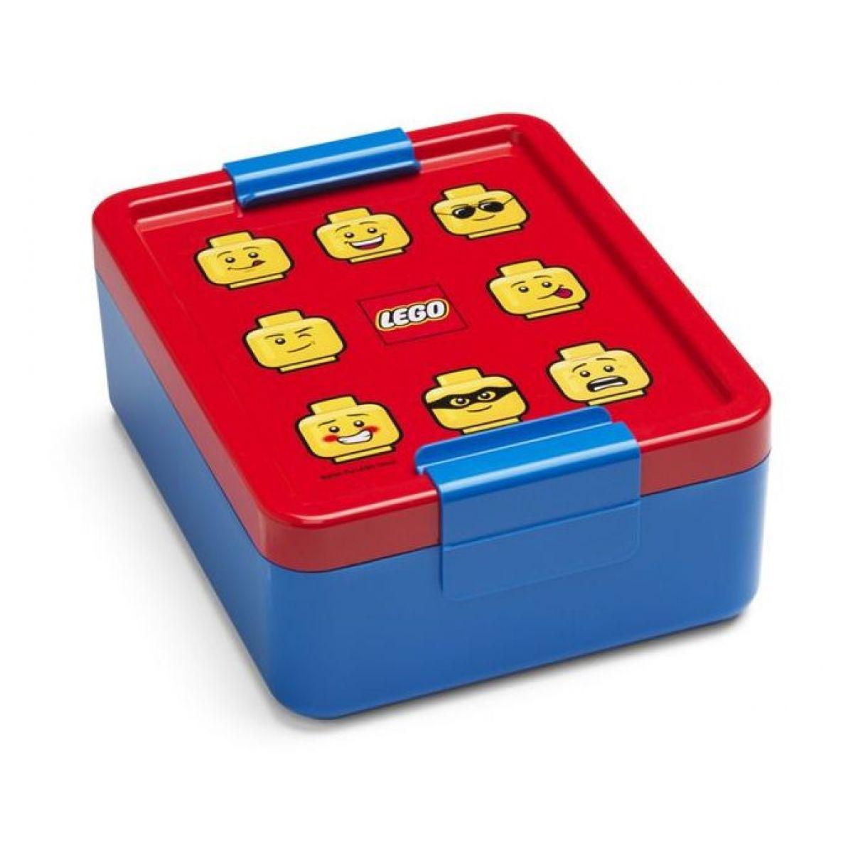 LEGO Iconic Boy box na desiatu červenomodrá