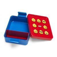LEGO Iconic Boy box na desiatu červenomodrá 2