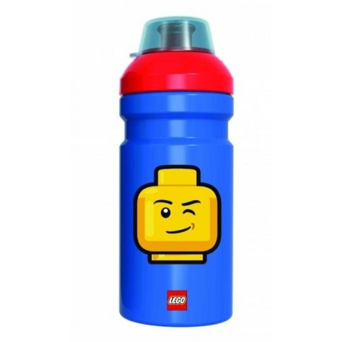 LEGO Iconic Classic fľaša na pitie červená a modrá