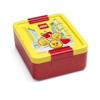 LEGO Iconic Girl box na desiatu žltočervená
