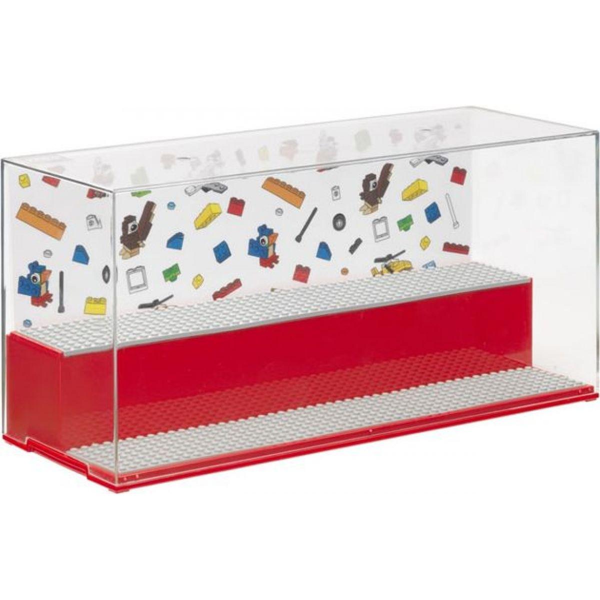 LEGO Iconic herná a zberateľská skrinka červená