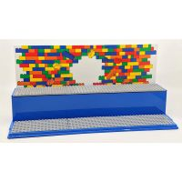 LEGO Iconic herná a zberateľská skrinka modrá