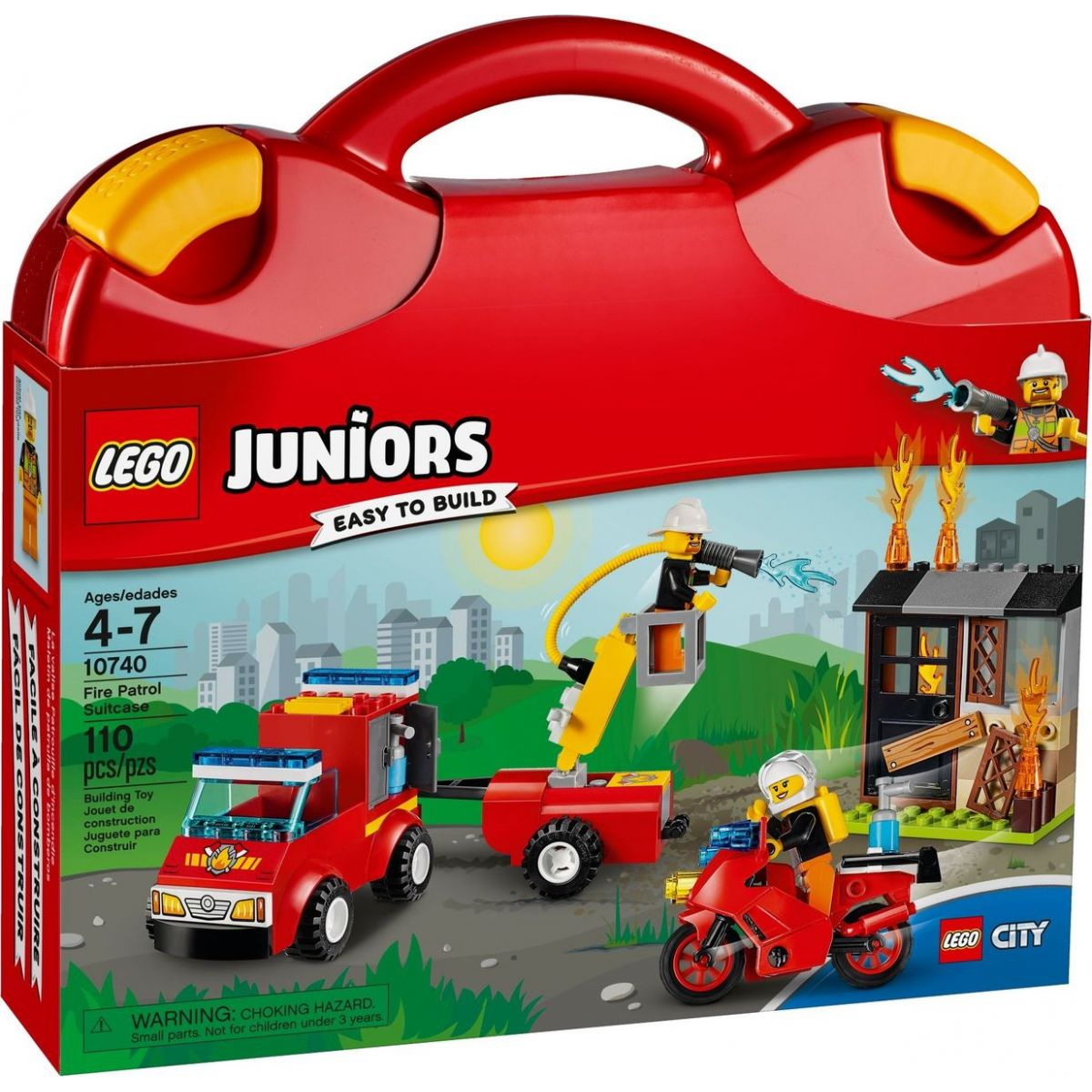 LEGO Juniors 10740 Kufrík hasičskej hliadky