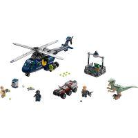 LEGO Jurassic World 75928 Prenasledovanie Blue helikoptérou