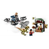 LEGO Jurassic World 75934 Dilophosaurus na úteku