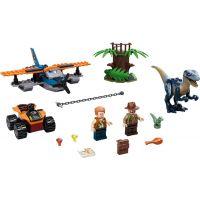 LEGO Jurassic World 75942 Velociraptor: Záchranná misia s dvojplošníkom