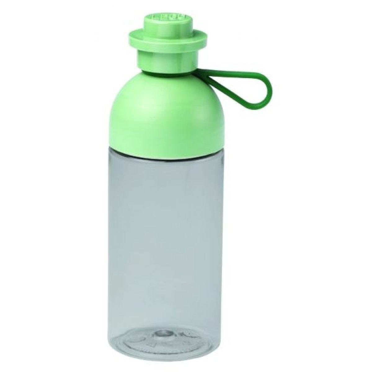 LEGO Fľaša transparentná army zelená