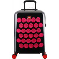 LEGO Luggage ColourBox Brick Dots 20 Čierny Růžový