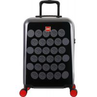 LEGO Luggage ColourBox Brick Dots 20 Čierny Šedý