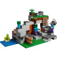 LEGO Minecraft 21141 Jaskyňa so zombie