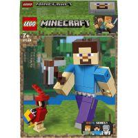 LEGO Minecraft 21148 veľká figúrka: Steve s papagájom